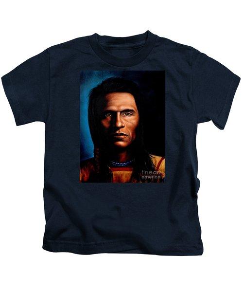 Native American Indian Soaring Eagle Kids T-Shirt