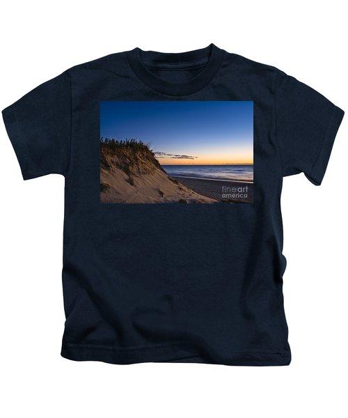 Nauset Beach Sunrise Kids T-Shirt