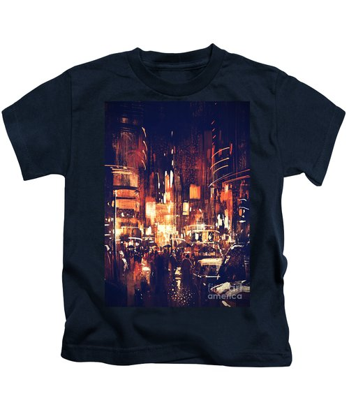 Night Life Kids T-Shirt