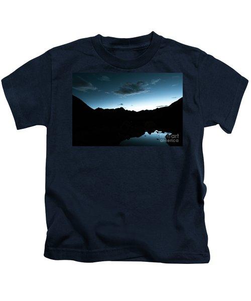 Night Sky Himalayas Tibet Yantra.lv Kids T-Shirt