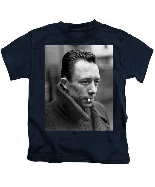 Nobel Prize Winning Writer Albert Camus Paris, France, 1962 -2015 Kids T-Shirt