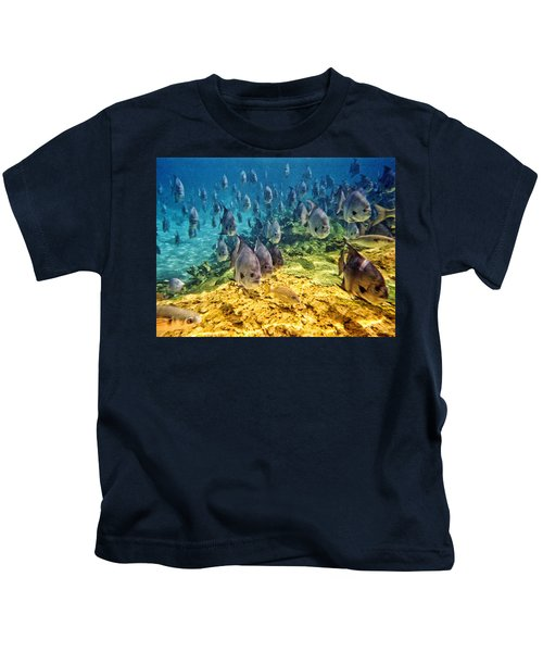 Oceans Below Kids T-Shirt