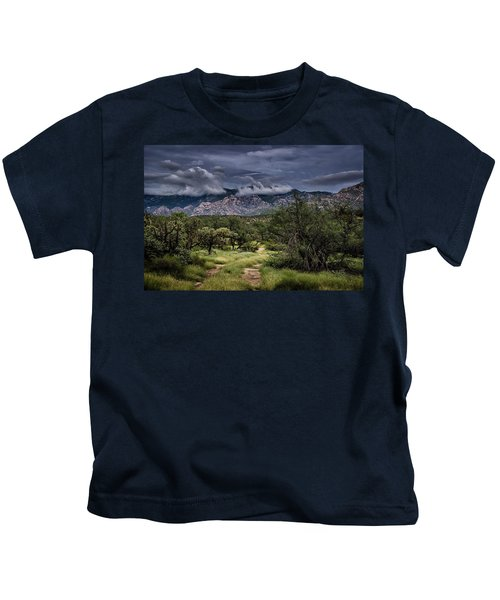 Odyssey Into Clouds Kids T-Shirt