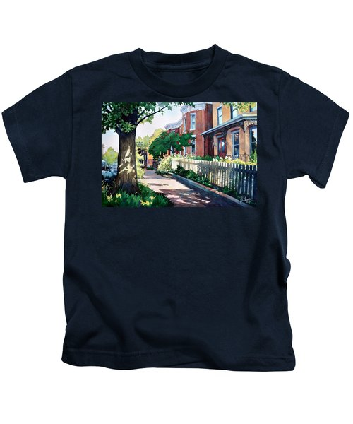 Old Iron Porch Kids T-Shirt