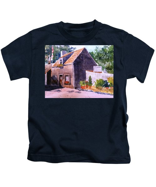 Old Wooden School House Kids T-Shirt