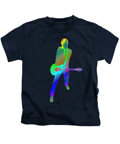 olourful guitar player. Music is my passion Kids T-Shirt