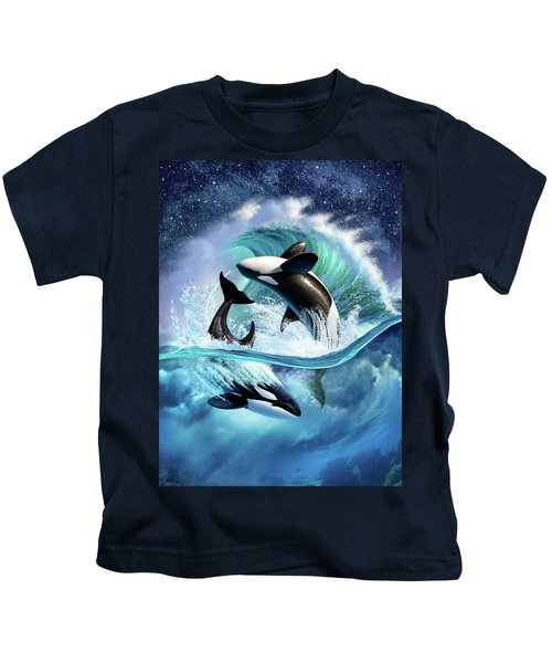 Orca Wave Kids T-Shirt