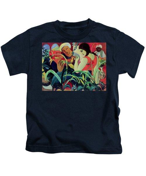 Oriental Women Kids T-Shirt