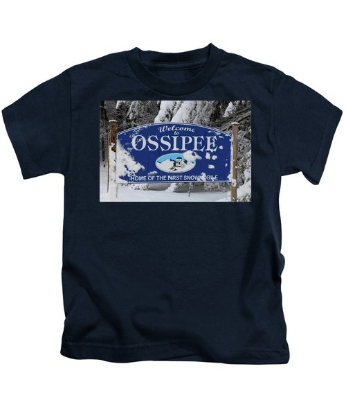 Ossipee Nh Kids T-Shirt