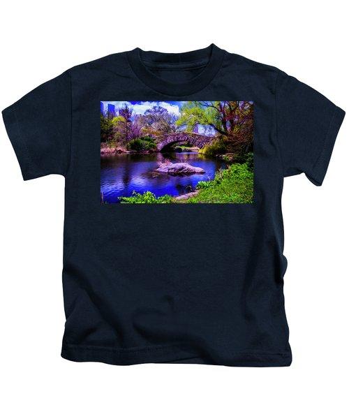 Park Bridge Kids T-Shirt