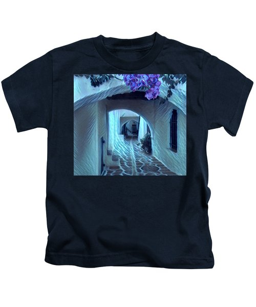 Kids T-Shirt featuring the photograph Paros Island Beauty by Colette V Hera Guggenheim