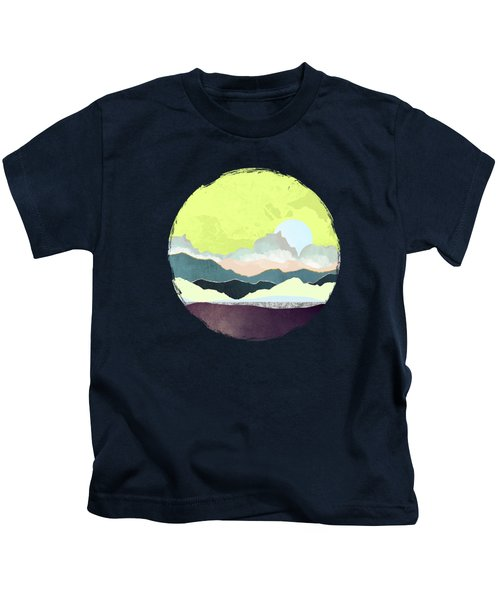 Pastel Afternoon Kids T-Shirt
