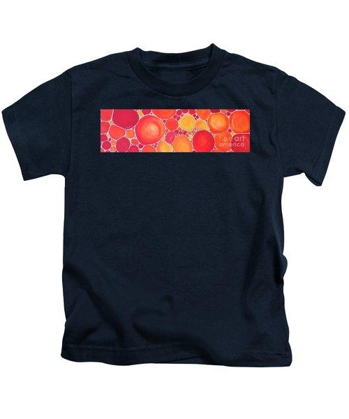 Pebbles At Sunset  Kids T-Shirt