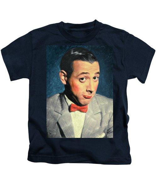 Pee-wee Herman Kids T-Shirt