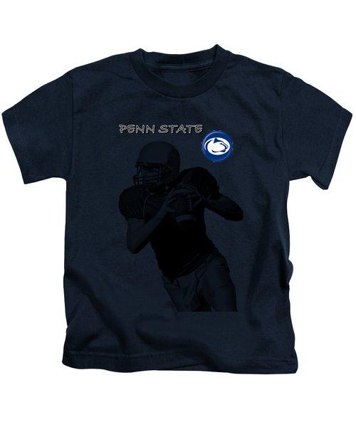Penn State Football Kids T-Shirt by David Dehner