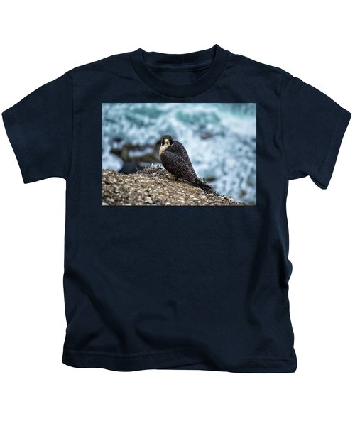 Peregrine Falcon - Here's Looking At You Kids T-Shirt