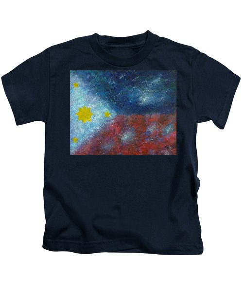 Philippine Flag Kids T-Shirt