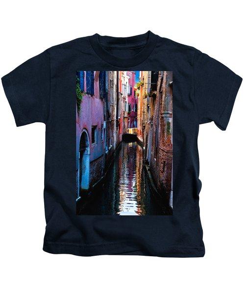 Pink Canal Kids T-Shirt