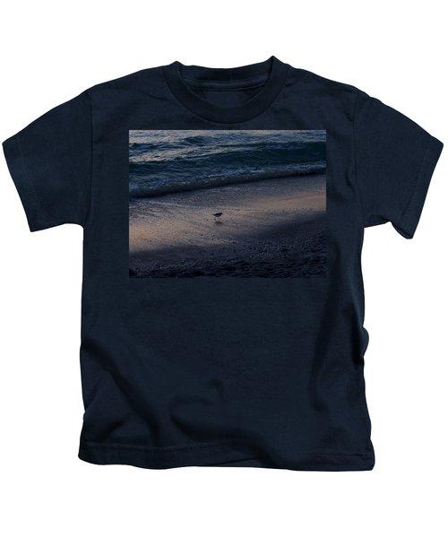 Piper At Dusk Kids T-Shirt