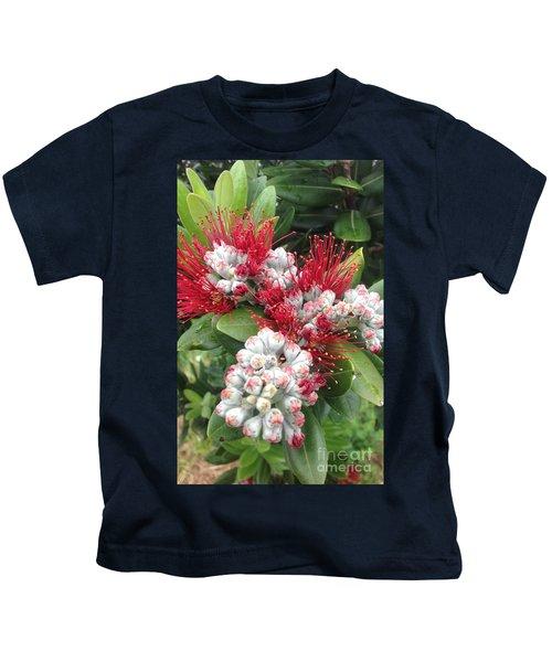 Pohutukawa Flowers  Kids T-Shirt