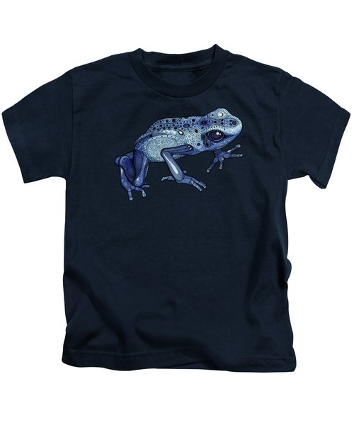 Poison Dart Frog Kids T-Shirt by ZH Field