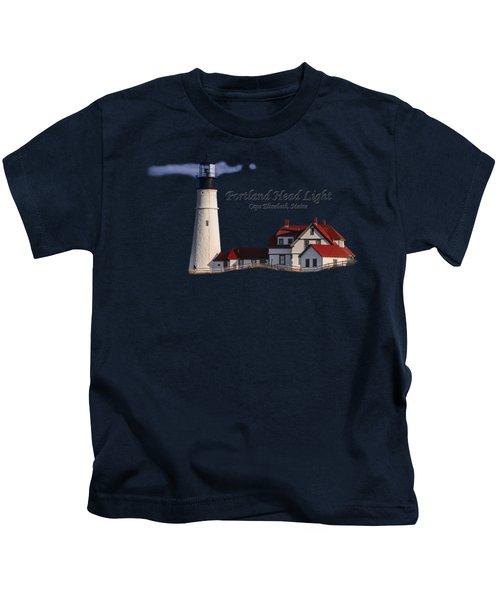 Portland Head Light No. 43 Kids T-Shirt