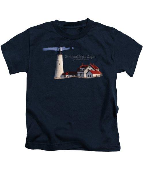 Portland Head Light No. 43 Kids T-Shirt