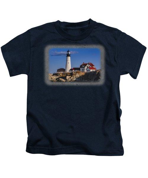 Portland Head Light No. 44 Kids T-Shirt