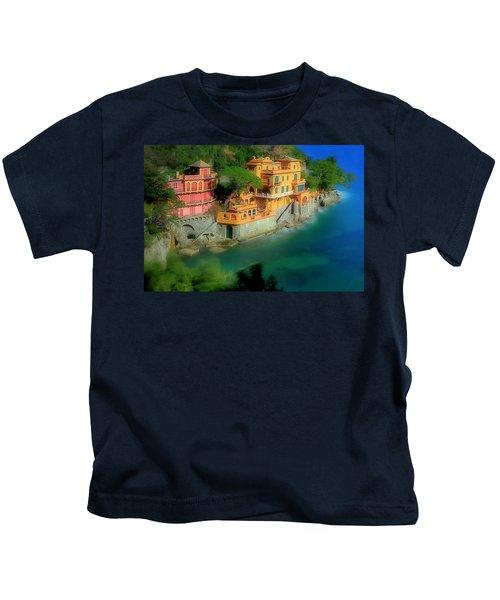 Portofino Park Bay Kids T-Shirt