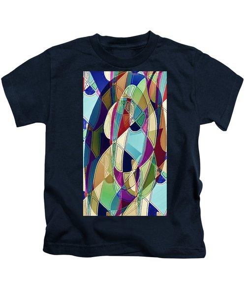 Portrait Of A Friend Kids T-Shirt