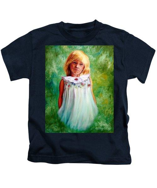 Portrait Of Sara Kids T-Shirt