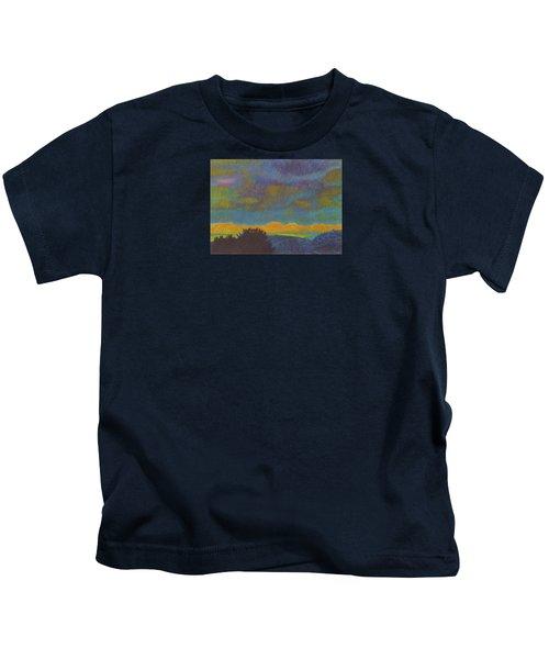 Powder River Reverie, 2 Kids T-Shirt