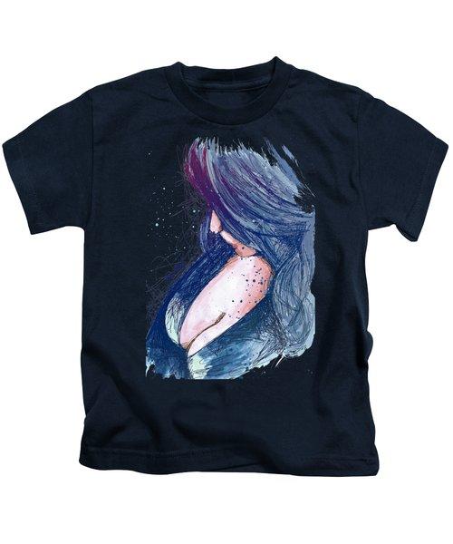 Prayers For Rain - Blue Kids T-Shirt