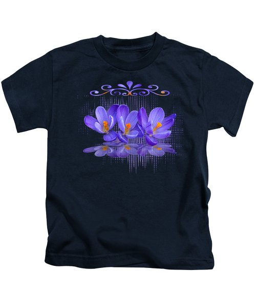 Purple Passion Kids T-Shirt