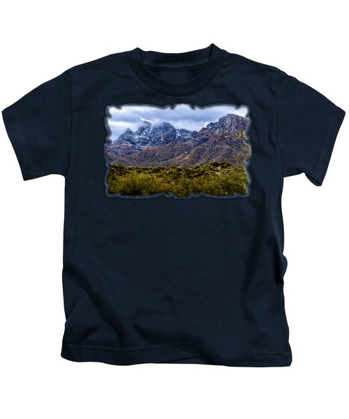 Pusch Ridge Snow No8 Kids T-Shirt