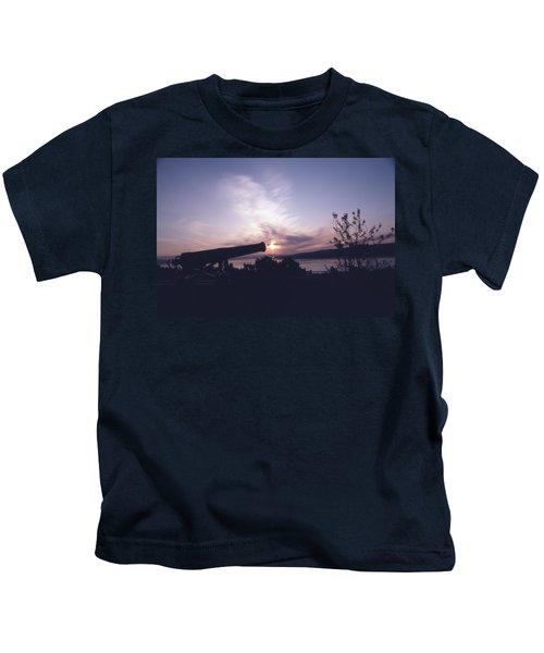 Putting Up The Sun Kids T-Shirt