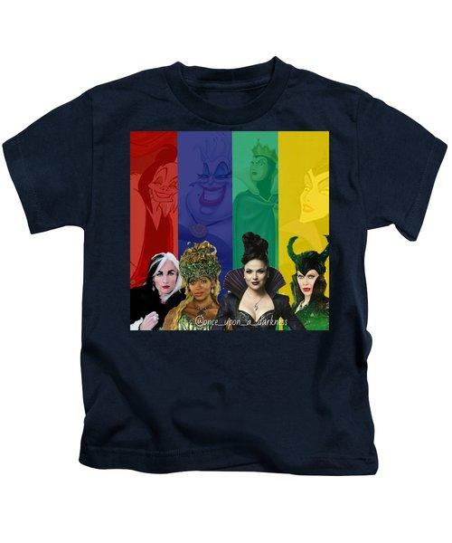 Queens Of Darkness Kids T-Shirt
