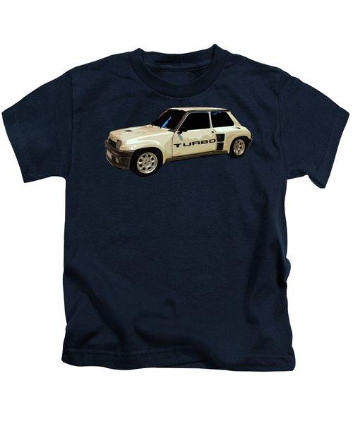 R Turbo Art Kids T-Shirt