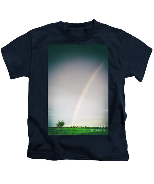 Rainbow #0157 Kids T-Shirt