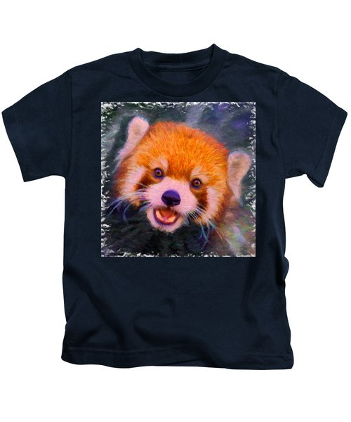 Red Panda Cub Kids T-Shirt
