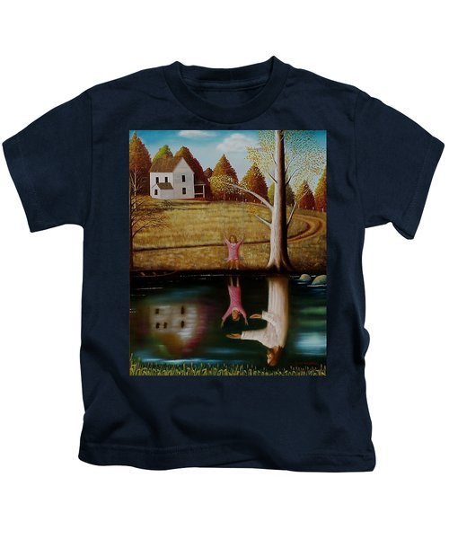 Reflection Of Protection. Kids T-Shirt
