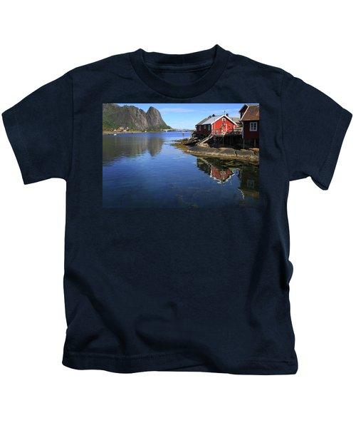 Reine, Norway Kids T-Shirt