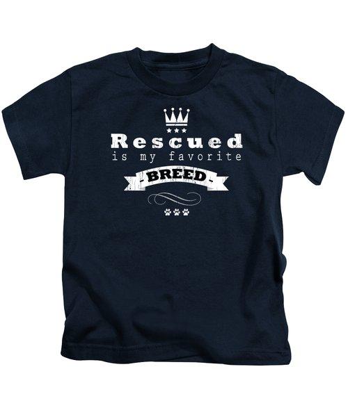 Rescued Crown Light Kids T-Shirt