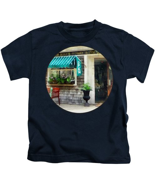 Rhode Island - Antique Shop Newport Ri Kids T-Shirt