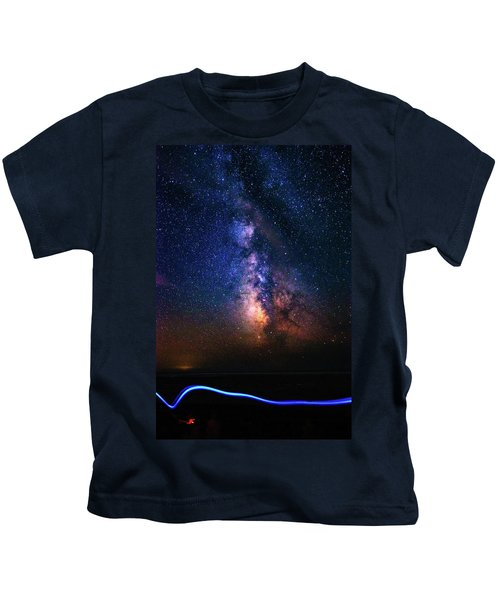 Rising From The Clouds Kids T-Shirt