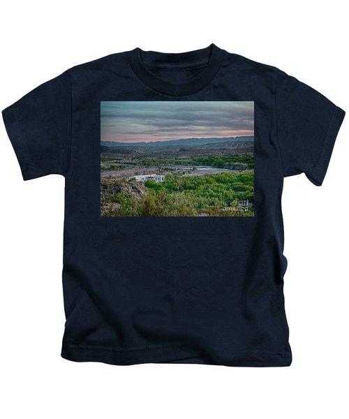 River Overlook Kids T-Shirt