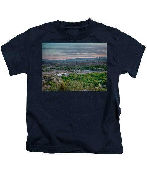 River Overlook Kids T-Shirt