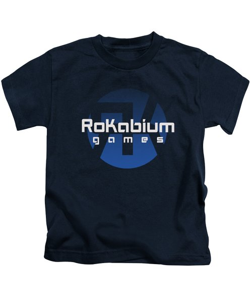 Rokabium Games Logo Kids T-Shirt