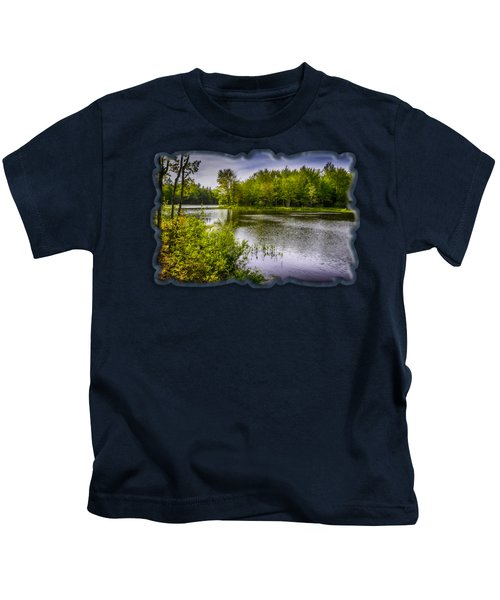 Round The Bend In Oil 36 Kids T-Shirt