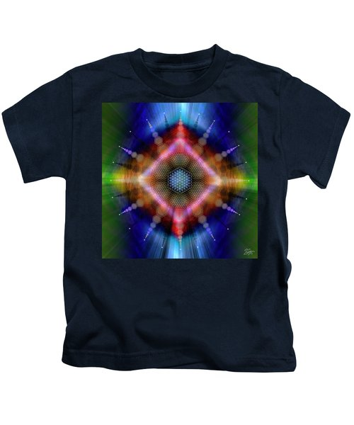 Sacred Geometry 645 Kids T-Shirt